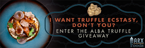 I want truffle ectasy, Don't you? Enter Now!