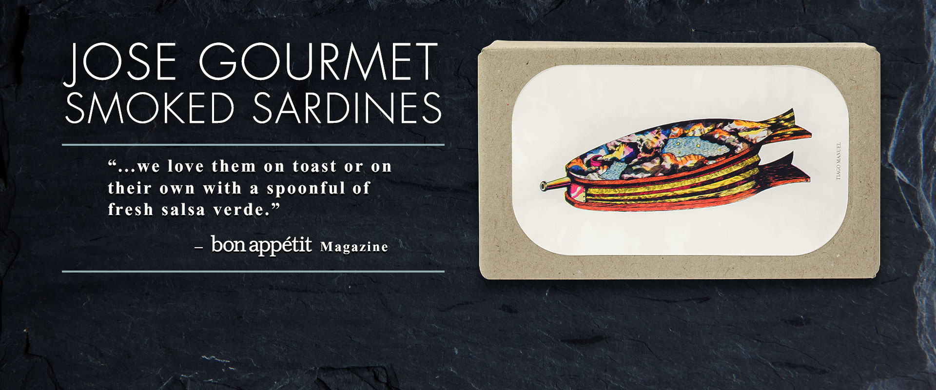 Jose Gourmet Smoked Sardines