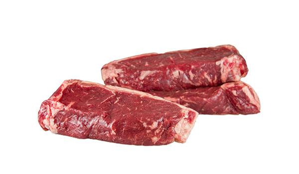 Grass-Fed Beef Strip Steaks